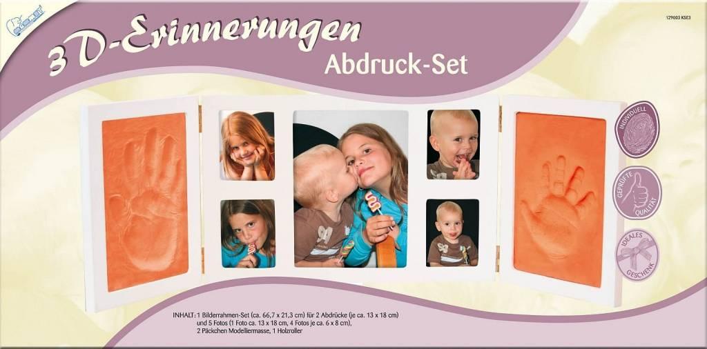 Abdruck-Set 3D-Erinnerungen