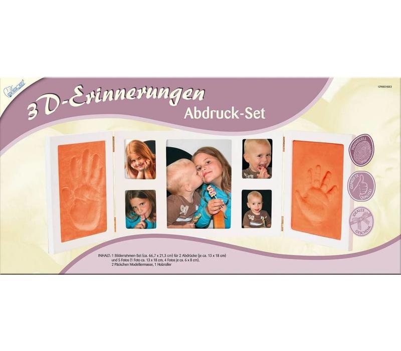 """Abdruck-Set """"3D-Erinnerungen"""""""