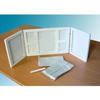 """Kit d'empreinte """"Mémoires-3D"""" avec  cadre photo"""