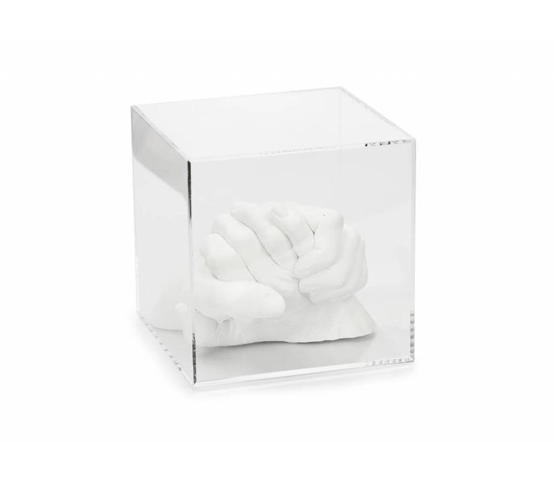 Lucky Hands® Cube en verre acrylique