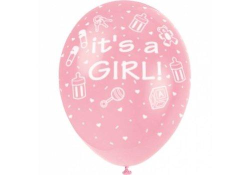"""Luftballon """"It's a Girl"""""""