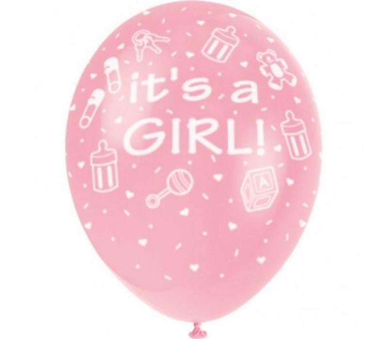 """Balloon  """"It's a Girl"""""""