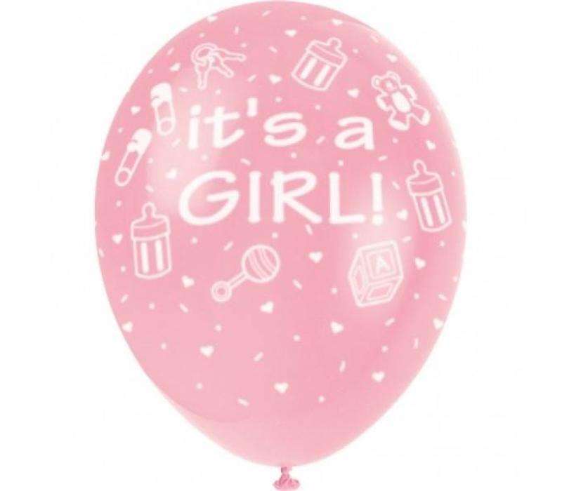 "Luftballon ""It's a Girl"""