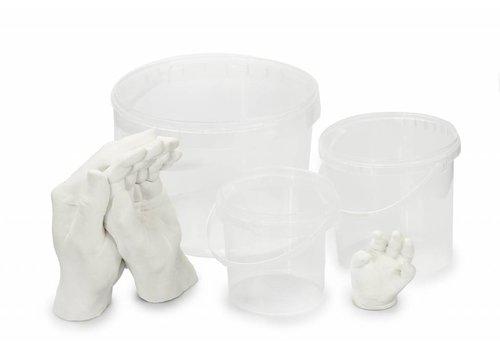 Lucky Hands® Contenedor de impresión mano y pie