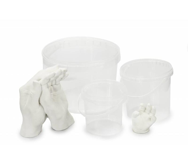 Impression container hand & foot