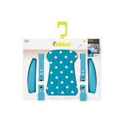 Qibbel Stylingset Luxe Voorzitje Polka Dot Blauw