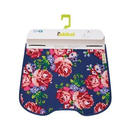 Qibbel Stylingset Luxe Windscherm Blossom Roses Blue
