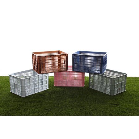 Basil Fietskrat Crate 50L Saddle brown