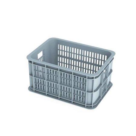 Basil Fietskrat Crate 25L Silver cloud