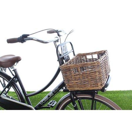 Wicked Kratmand S Bruin 25L - klassieke fietsmand