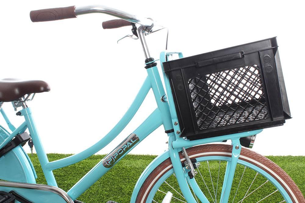Zwart krat voor de fiets