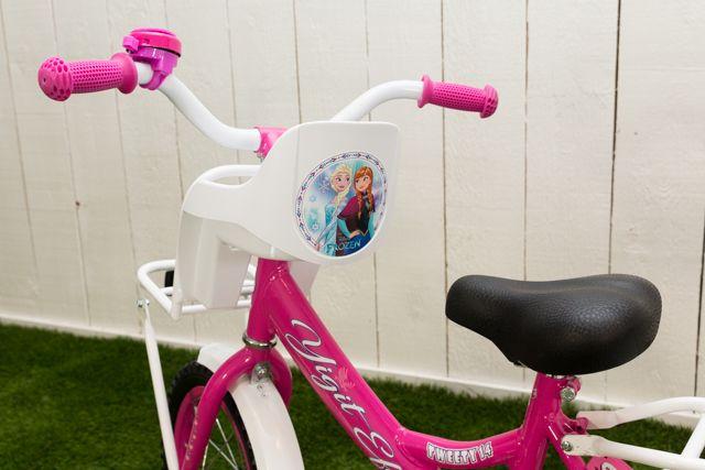 Poppenzitje fiets