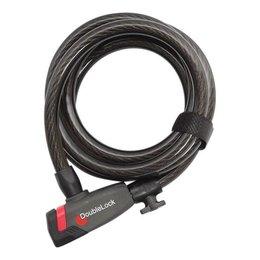 DoubleLock Kabelslot Coil Cable Key 185 CM
