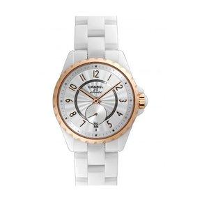 Chanel J12 White Horloge Keramiek Wit / Keramiek (H3839)