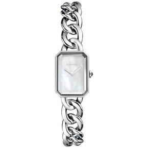 Chanel Premiere Mother of Pearl Dial Stainless Steel Ladies Watch (H3249)