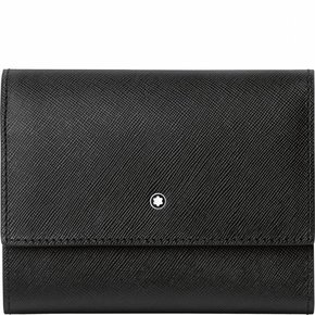 Montblanc Sartorial Women's Wallet 4cc with Flap & zipped Coin Case