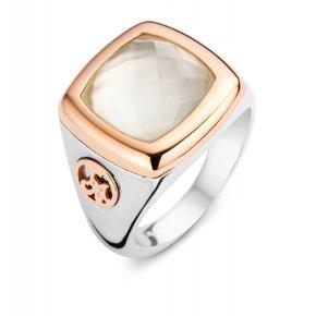 Tirisi Moda Camouflage Ring Bergkristal/Parelmoer