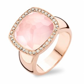 Tirisi Jewelry Ring Milano Rozenkwarts