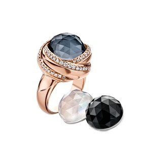 Tirisi Moda Three times a lady Ring