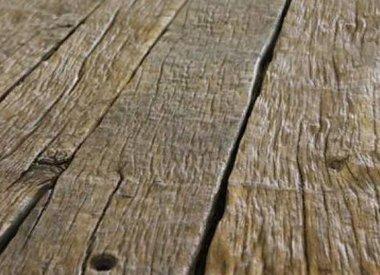 Oude eiken planken