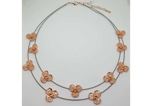 Daisy Wire Collar Necklace (More Colours)