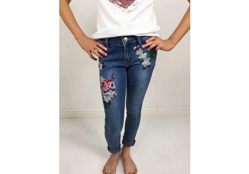 BROOKE Floral Jeans