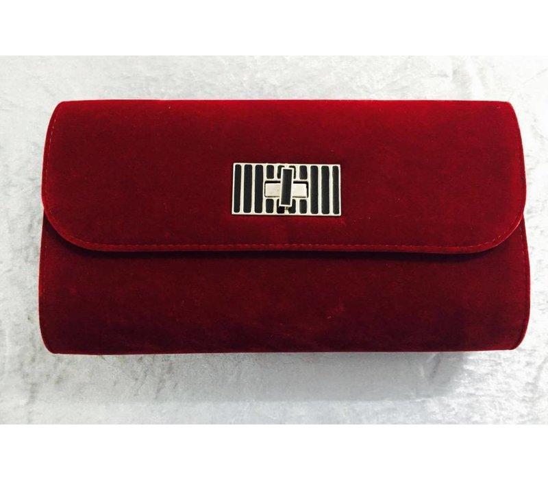 Velvet Clutch Bag (2 Colours)