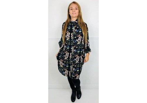 KELSIE Floral Shirt Dress