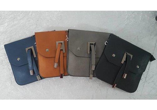 Flap Cross Body Bag (4 Colours)