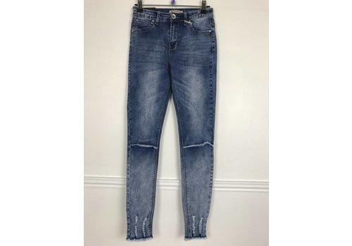 Dip Dyed ISLA Stretch Denim Jeans