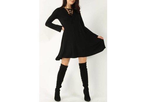 MIA Black Swing Dress