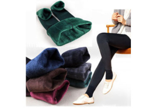 Fleece Lined Thermal Leggings (6 Colours)