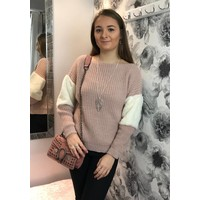 ANNABELLE Fur Chunky Knit Jumper (2 colours)
