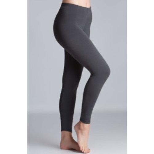 RILEY Charcoal Grey Fleece Lined Leggings