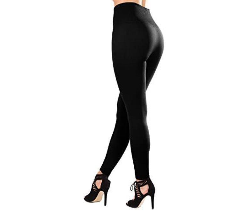 RILEY Fleece Lined Leggings - Black