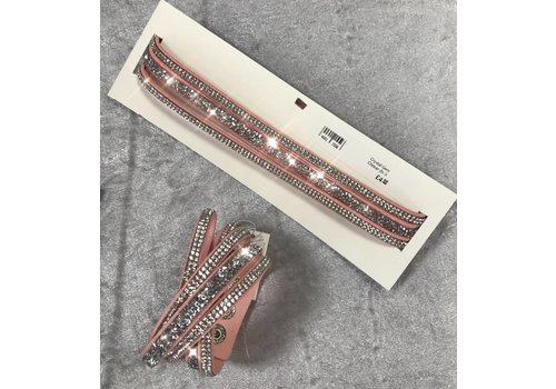 Crystal & Gem Choker/Bracelet (More Colours)