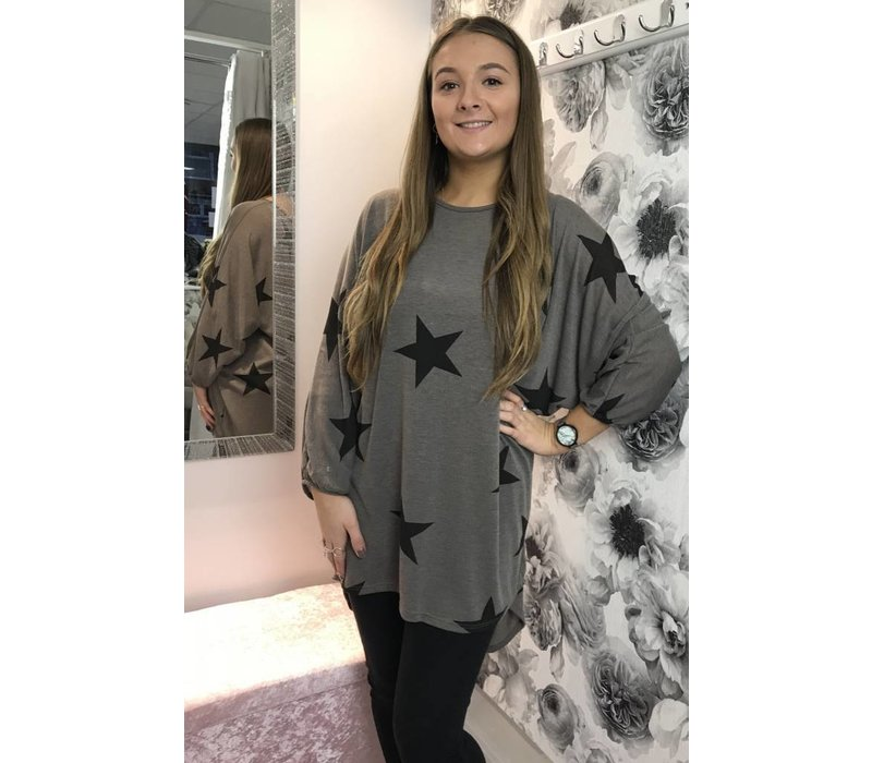 NICOLE Batwing Star Tunic (Several colours)