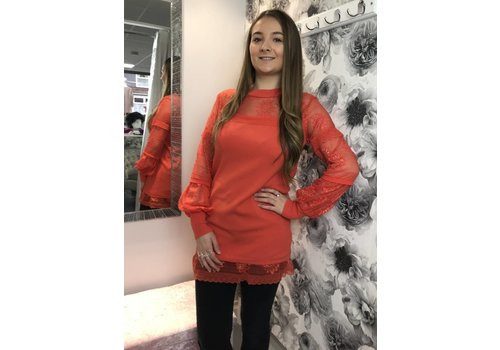 Coral DEMI Lace Jumper