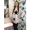 TAMMIE Sequin Velvet Star Sweatshirt (More Colours)
