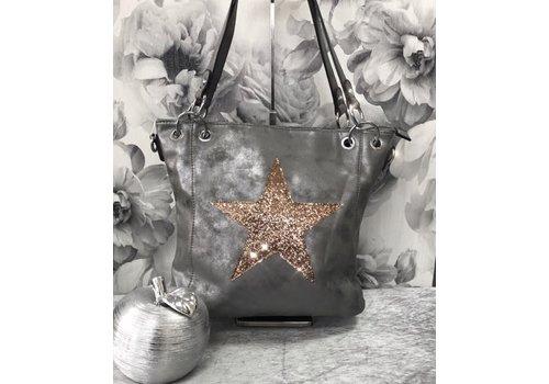 Glitter Star Handbag