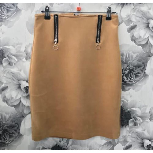 Faux Suede Skirt (More Colours)