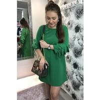 ELLEN Frill Sleeve Dress (More Colours)
