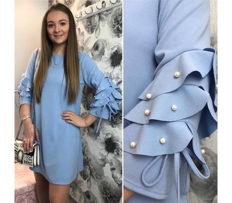 BELLA Pearl Frill Dress