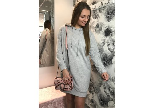 JESS Pearl Sleeve Hoodie (More Colours)