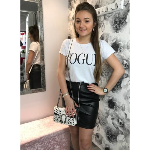 VOGUE Slogan T-shirt (More Colours)