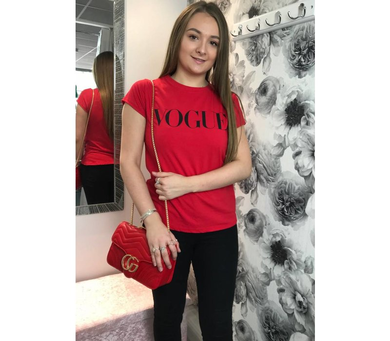 VOGUE Slogan T-shirt (More Colours)