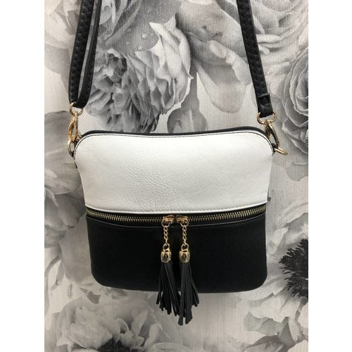 Small DOUBLE TASSEL Crossbody Bag S/S (More Colours)