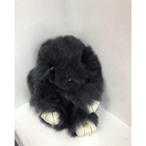Faux Fur Rabbit Key Ring (More Colours)