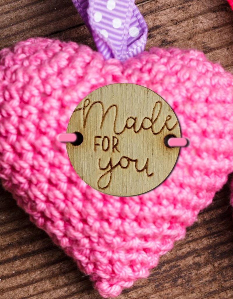 Knoop 2cm Made for you