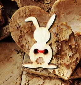 Knoop 25mm  bunny, set van 5